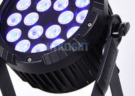 Black Housing Outdoor 18x10w Led Par Stage Lamp For Musical Concerts