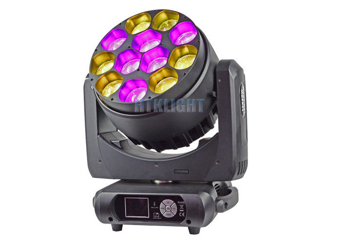 12X40W LED Zoom Wash Moving Head For Events , Theater , Party CE RoHS