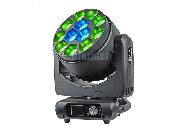 Indoor Church Rgbw LED Stage Lights IP33 Sound Control Mode High Efficiency